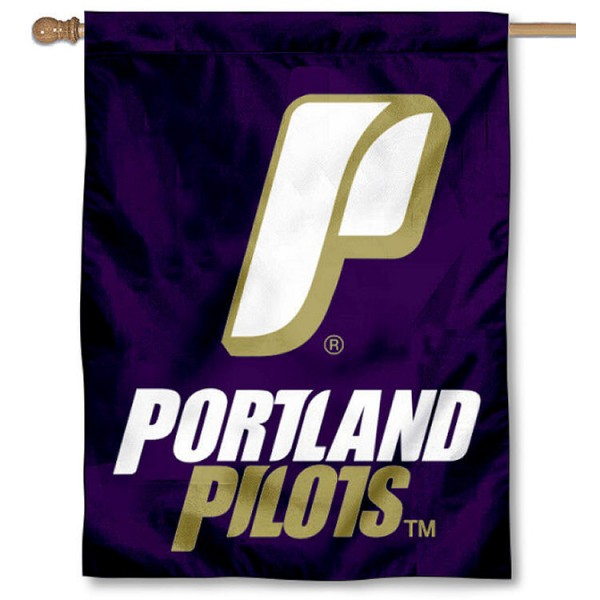 Portland Pilots House Flag is a vertical house flag which measures 30x40 inches, is made of 2 ply 100% polyester, offers dye sublimated NCAA team insignias, and has a top pole sleeve to hang vertically. Our Portland Pilots House Flag is officially licensed by the selected university and the NCAA