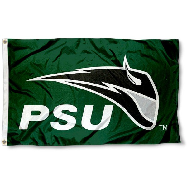 Portland State PSU Vikings 3x5 Flag measures 3'x5', is made of 100% poly, has quadruple stitched sewing, two metal grommets, and has double sided Team University logos. Our Portland State University 3x5 Flag is officially licensed by the selected university and the NCAA.