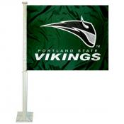 Portland State University Car Window Flag