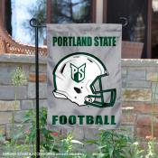 Portland State University Helmet Yard Flag