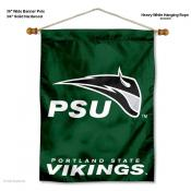 Portland State Vikings Wall Banner