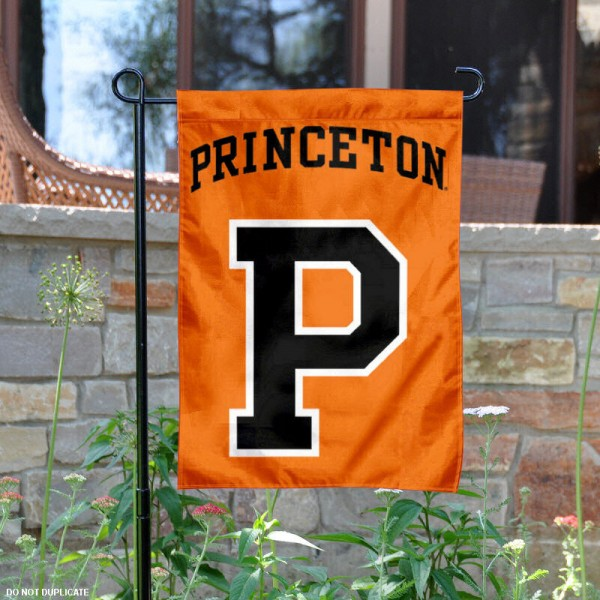 Princeton Tigers Garden Flag is 13x18 inches in size, is made of 2-layer polyester, screen printed Princeton Tigers athletic logos and lettering. Available with Same Day Express Shipping, Our Princeton Tigers Garden Flag is officially licensed and approved by Princeton Tigers and the NCAA.