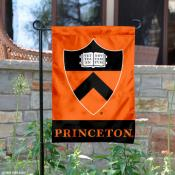 Princeton Tigers Shield Garden Flag