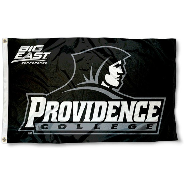 Providence Big East Logo Flag measures 3'x5', is made of 100% poly, has quadruple stitched sewing, two metal grommets, and has double sided Team University logos. Our Providence Big East Logo Flag is officially licensed by the selected university and the NCAA.