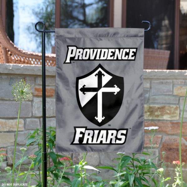 Providence University Logo Garden Flag is 13x18 inches in size, is made of 2-layer polyester, screen printed Providence University Logo athletic logos and lettering. Available with Same Day Express Shipping, Our Providence University Logo Garden Flag is officially licensed and approved by Providence University Logo and the NCAA.