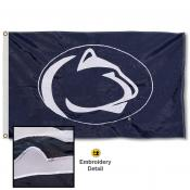 PSU Nittany Lions Nylon Embroidered Flag