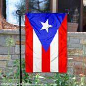 Puerto Rico Double Sided Garden Flag