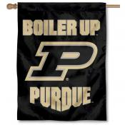 Purdue Boiler Up Logo House Flag