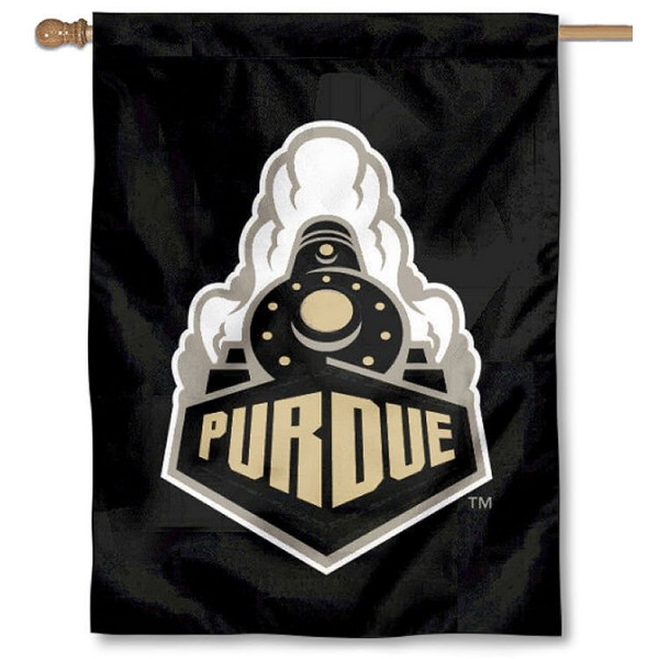 Purdue Boilermakers Banner Flag is a vertical house flag which measures 30x40 inches, is made of 2 ply 100% polyester, offers dye sublimated NCAA team insignias, and has a top pole sleeve to hang vertically. Our Purdue Boilermakers Banner Flag is officially licensed by the selected university and the NCAA.