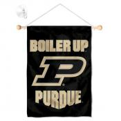 Purdue Boilermakers Banner with Suction Cup
