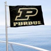 Purdue Boilermakers Boat and Mini Flag
