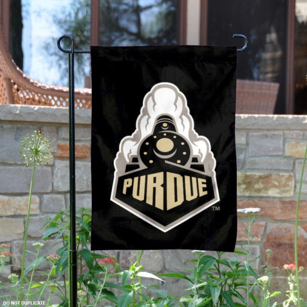 Purdue Boilermakers Boiler Garden Flag is 13x18 inches in size, is made of 2-layer polyester, screen printed Purdue University athletic logos and lettering. Available with Same Day Express Shipping, Our Purdue Boilermakers Boiler Garden Flag is officially licensed and approved by Purdue University and the NCAA.