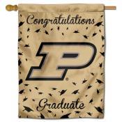 Purdue Boilermakers Congratulations Graduate Flag