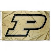Purdue Boilermakers Gold Motion P Flag