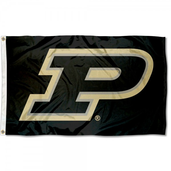 Purdue Boilermakers Motion P Flag measures 3x5 feet, is made of 100% polyester, offers quadruple stitched flyends, has two metal grommets, and offers screen printed NCAA team logos and insignias. Our Purdue Boilermakers Motion P Flag is officially licensed by the selected university and NCAA.
