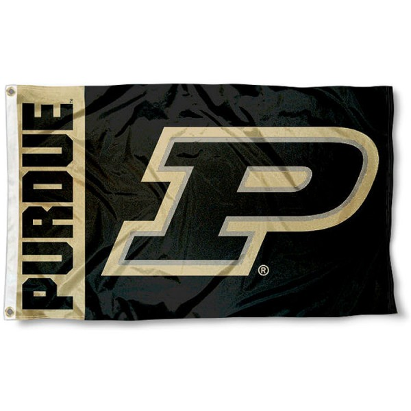 Purdue Boilermakers P Logo Flag measures 3x5 feet, is made of 100% polyester, offers quadruple stitched flyends, has two metal grommets, and offers screen printed NCAA team logos and insignias. Our Purdue Boilermakers P Logo Flag is officially licensed by the selected university and NCAA.
