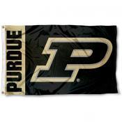 Purdue Boilermakers P Logo Flag