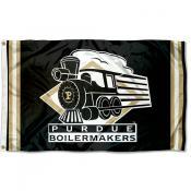 Purdue Boilermakers Throwback Vault Logo Flag