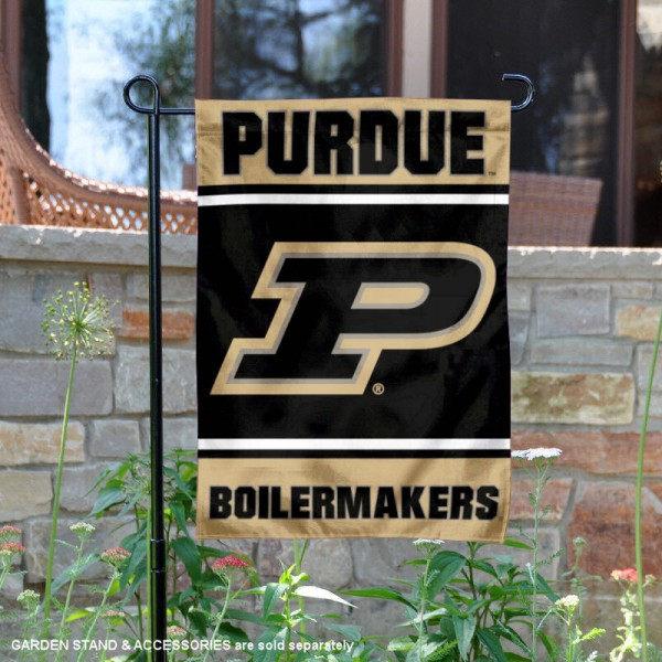 Purdue Garden Flag is 13x18 inches in size, is made of 2-layer polyester, screen printed logos and lettering. Available with Same Day Express Shipping, Our Purdue Garden Flag is officially licensed and approved by the NCAA.