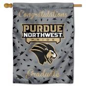Purdue Northwest Pride Congratulations Graduate Flag