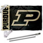 Purdue Panel Flag Pole and Bracket Kit
