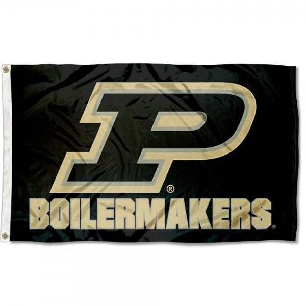 Purdue Slant P Flag measures 3x5 feet, is made of 100% polyester, offers quadruple stitched flyends, has two metal grommets, and offers screen printed NCAA team logos and insignias. Our Purdue Slant P Flag is officially licensed by the selected university and NCAA.