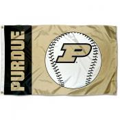 Purdue University Baseball Flag
