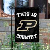 Purdue University Country Garden Flag