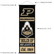 Purdue University Decor and Banner