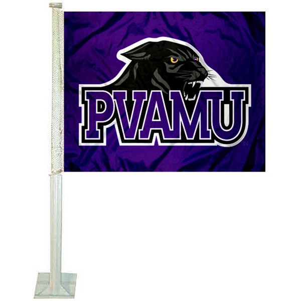 Pvamu Panthers Car Flag And Car Flags For Pvamu Panthers