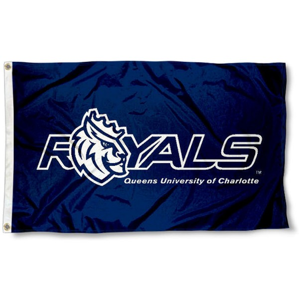 Queens Royals Flag measures 3x5 feet, is made of 100% polyester, offers quadruple stitched flyends, has two metal grommets, and offers screen printed NCAA team logos and insignias. Our Queens Royals Flag is officially licensed by the selected university and NCAA.