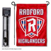 Radford Highlanders Garden Flag and Pole Stand Mount