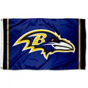 Ravens Logo Flag