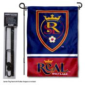 Real Salt Lake Garden Flag and Flagpole Stand