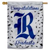 Rice Owls Congratulations Graduate Flag