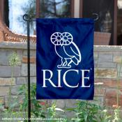 Rice Owls Crest Owl Garden Flag
