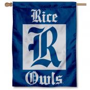 Rice Owls Home Flag
