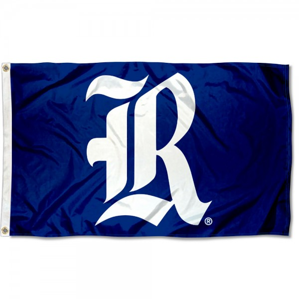 Rice Owls Old English Flag measures 3x5 feet, is made of 100% polyester, offers quadruple stitched flyends, has two metal grommets, and offers screen printed NCAA team logos and insignias. Our Rice Owls Old English Flag is officially licensed by the selected university and NCAA.