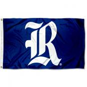 Rice Owls Old English Flag