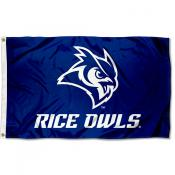 Rice Owls Outdoor Flag