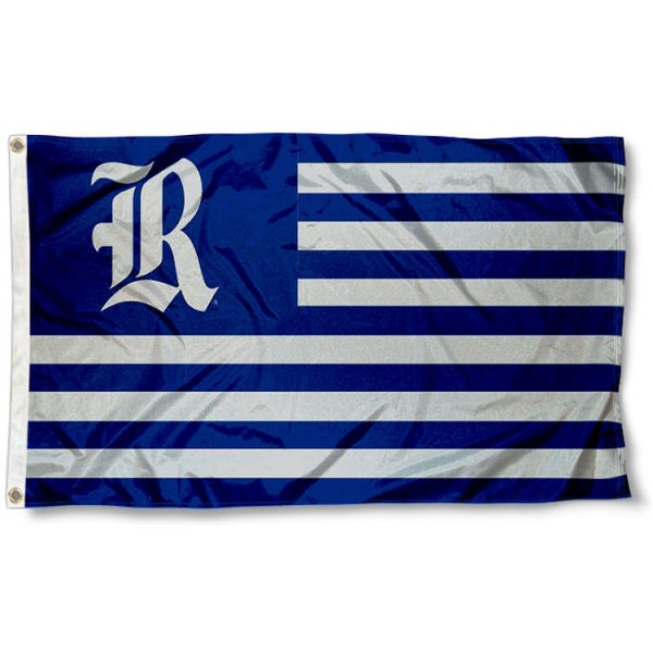 Rice Owls Stripes Flag measures 3'x5', is made of polyester, offers double stitched flyends for durability, has two metal grommets, and is viewable from both sides with a reverse image on the opposite side. Our Rice Owls Stripes Flag is officially licensed by the selected school university and the NCAA.