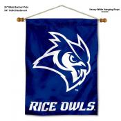 Rice Owls Wall Banner