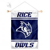 Rice Owls Window and Wall Banner