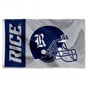 Rice University 3x5 Flag