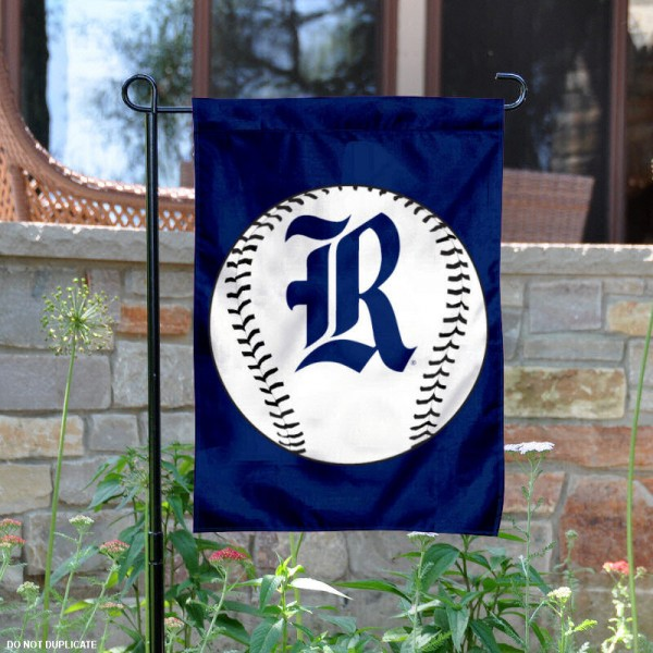 Rice University Baseball Garden Flag is 13x18 inches in size, is made of 2-layer polyester, screen printed Rice University Baseball athletic logos and lettering. Available with Express Shipping, Our Rice University Baseball Garden Flag is officially licensed and approved by Rice University Baseball and the NCAA.