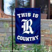 Rice University Country Garden Flag