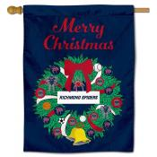 Richmond Spiders Happy Holidays Banner Flag