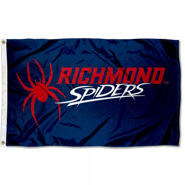 Richmond Spiders New Logo Flag measures 3x5 feet, is made of 100% polyester, offers quadruple stitched flyends, has two metal grommets, and offers screen printed NCAA team logos and insignias. Our Richmond Spiders New Logo Flag is officially licensed by the selected university and NCAA.