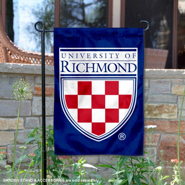 Richmond Spiders Wordmark Logo Garden Flag is 13x18 inches in size, is made of 2-layer polyester, screen printed university athletic logos and lettering, and is readable and viewable correctly on both sides. Available same day shipping, our Richmond Spiders Wordmark Logo Garden Flag is officially licensed and approved by the university and the NCAA.