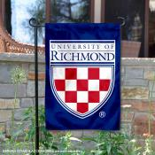 Richmond Spiders Wordmark Logo Garden Flag